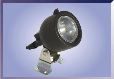 Faro redondo lente dispersora