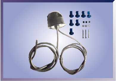 Base conectada a 2 mangueras
